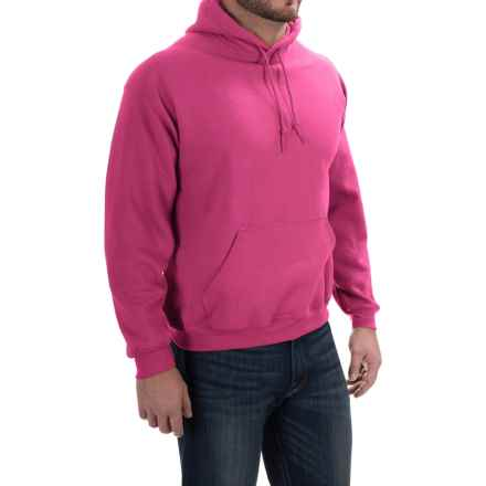 Gildan Hoodie - 7.75 oz. Ultra-Blend (For Men and Women) in Dark Pink - 2nds