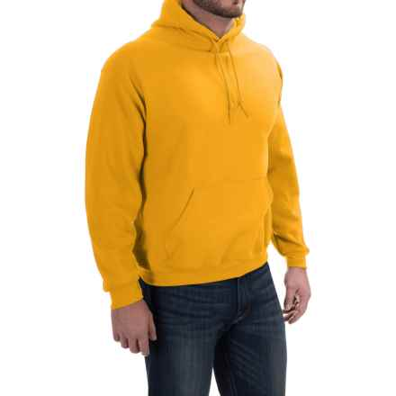 Gildan Hoodie - 7.75 oz. Ultra-Blend (For Men and Women) in Gold - 2nds