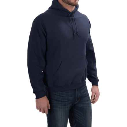 Gildan Hoodie - 7.75 oz. Ultra-Blend (For Men and Women) in Navy - 2nds