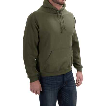 Gildan Hoodie - 7.75 oz. Ultra-Blend (For Men and Women) in Olive - 2nds