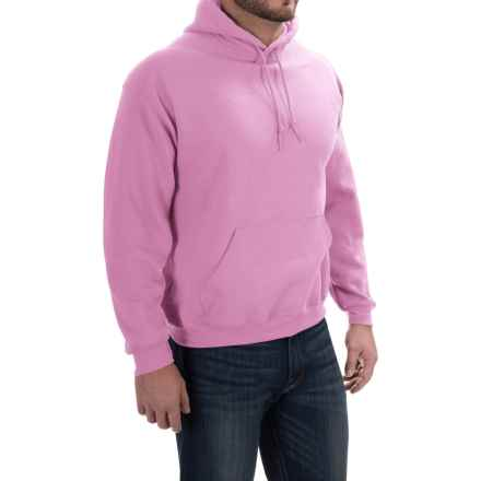 Gildan Hoodie - 7.75 oz. Ultra-Blend (For Men and Women) in Pink - 2nds