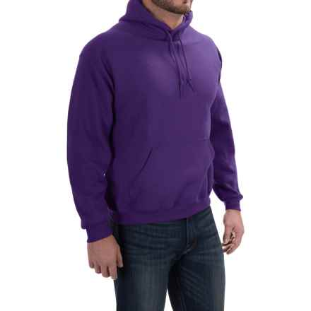 Gildan Hoodie - 7.75 oz. Ultra-Blend (For Men and Women) in Purple - 2nds