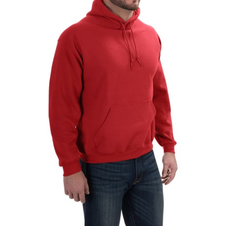 Gildan Hoodie - 7.75 oz. Ultra-Blend (For Men and Women) in Red