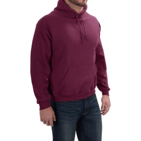 Gildan Hoodie - 7.75 oz. Ultra-Blend (For Men and Women) in Wine