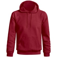 Gildan Ultra Blend Hoodie Sweatshirt (For Men and Women) in Cardinal - 2nds