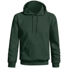 Gildan Ultra Blend Hoodie Sweatshirt (For Men and Women) in Dark Green - 2nds