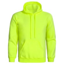 Gildan Ultra Blend Hoodie Sweatshirt (For Men and Women) in Safety Yellow - 2nds