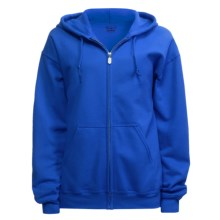 Gildan Zip Hoodie (For Men and Women) in Royal - 2nds
