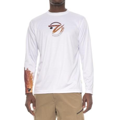 Gillz Redfish Sleeve-Graphic Shirt - Long Sleeve (For Men) in White