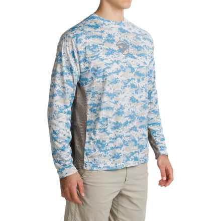Gillz Tournament Series Shirt - UPF 50, Long Sleeve (For Men) in Blue Camo - Closeouts