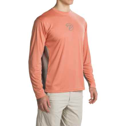 Gillz Tournament Series Shirt - UPF 50, Long Sleeve (For Men) in Salmon - Closeouts