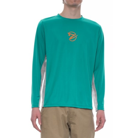 Gillz Tournament Series Shirt - UPF 50, Long Sleeve (For Men) in Teal