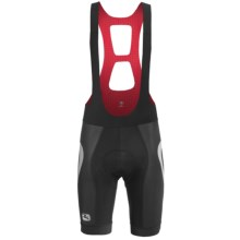 Giordana Forma Red Carbon Custom Trade Arco Bib Shorts - UPF 50+ (For Men) in Black - Closeouts