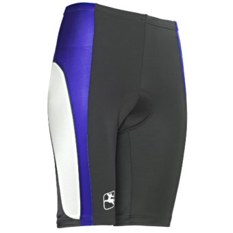 Giordana Semi-Custom Cycling Shorts - UPF 50 (For Women) in Blue