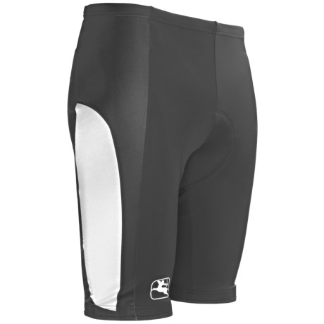 Giordana Semi-Custom Cycling Shorts - UPF 50+ (For Men) in Black
