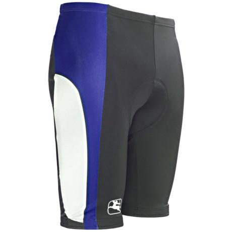 Giordana Semi-Custom Cycling Shorts - UPF 50+ (For Men) in Blue