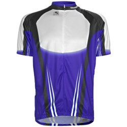 Giordana Semi-Custom GI-SC29 Cycling Jersey - Short Sleeve (For Men) in Yellow/Blue