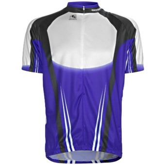 Giordana Semi-Custom GI-SC29 Cycling Jersey - Short Sleeve (For Men) in Blue