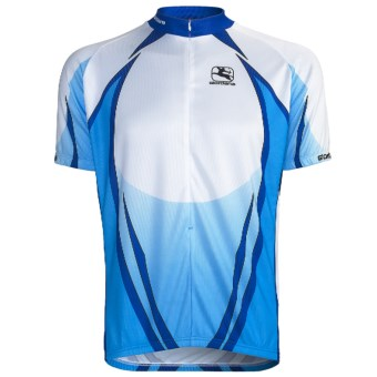 Giordana Semi-Custom GI-SC30 Cycling Jersey - Short Sleeve (For Men) in Blue