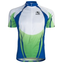 Giordana Semi-Custom GI-SC30 Cycling Jersey - Short Sleeve (For Men) in Green - Closeouts