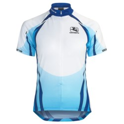 Giordana Semi-Custom GI-SC30 Cycling Jersey - Short Sleeve (For Women) in Blue