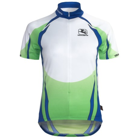 Giordana Semi-Custom GI-SC30 Cycling Jersey - Short Sleeve (For Women) in Green