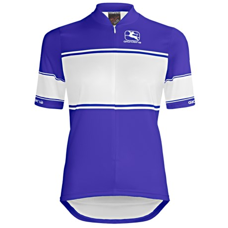 Giordana Semi-Custom GI-SC33 Cycling Jersey - Short Sleeve (For Women) in Pink
