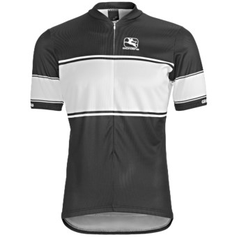 Giordana Semi-Custom GI-SC33 Pro Cycling Jersey - Short Sleeve (For Men) in Black