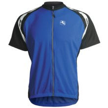 Giordana Silverline Super-Fit Cycling Jersey - Short Sleeve (For Men) in Blue - Closeouts