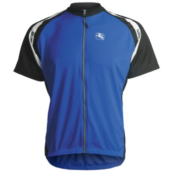Giordana Silverline Super-Fit Cycling Jersey - Short Sleeve (For Men) in Blue