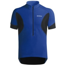 Giordana Tenax Cycling Jersey - Half-Zip, Short Sleeve (For Men) in Blue - Closeouts