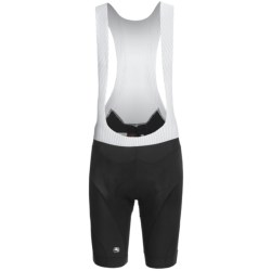 Giordana Tenax Laser Bib Shorts - UPF 50+ (For Men) in Black