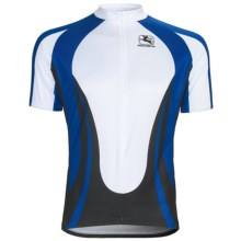 Giordana Terra Pro Cycling Jersey - Short Sleeve (For Men) in Terra/Blue - Closeouts