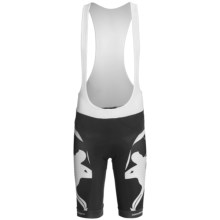 Giordana Trade Cycling Bib Shorts - UPF 50+ (For Men) in Black/White - Closeouts