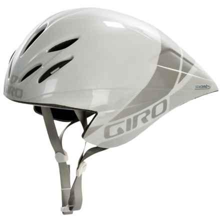 Giro Advantage 2 Road Bike Helmet (For Men and Women) in White/Silver - Closeouts