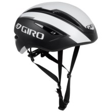 Giro Air Attack Cycling Helmet (For Men and Women) in Matte Black/White - Closeouts