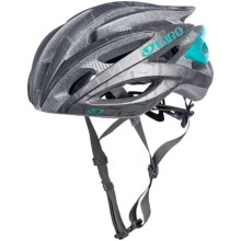 Giro Amare Bike Helmet (For Women) in Matte Titanium/Turquoise - Closeouts