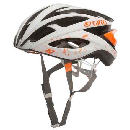 Giro Amare II Bike Helmet (For Women) in Matte White/Flame - Closeouts