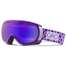 Giro Amulet Flash Ski Goggles (For Women) in Purple Mosiac/Grey Purple - Closeouts