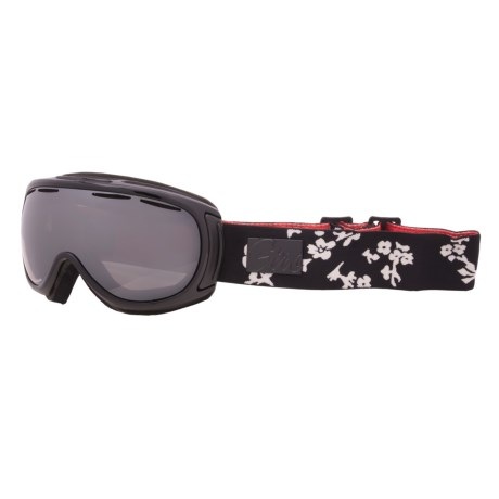 Giro Amulet Flash Snowsport Goggles (For Women) in Black Midnight Bloom/Black Limo 15