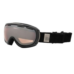 Giro Amulet Flash Snowsport Goggles (For Women) in Black Monolithe/Rose Silver 30