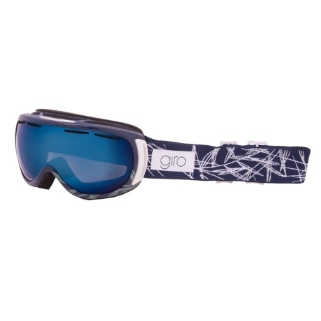 Giro Amulet Flash Snowsport Goggles (For Women) in Navy Pine/Grey Cobalt 10