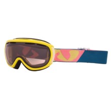 Giro Amulet Snowsport Goggles (For Women) in Bright Gloss Yellow/Amber Rose 40 - Closeouts