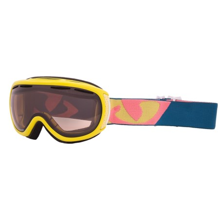 Giro Amulet Snowsport Goggles (For Women) in Bright Gloss Yellow/Amber Rose 40