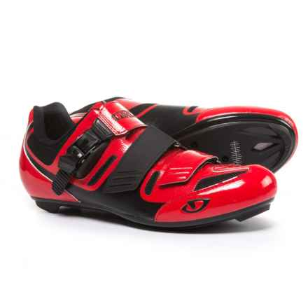 Giro Apeckx II Road Cycling Shoes - 3-Hole (For Men) in Bright Red/Black - Closeouts