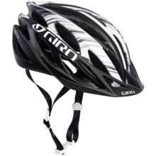 Giro Athlon Bike Helmet (For Men and Women) in Matte Black/White - Closeouts