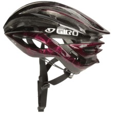Giro Atmos Cycling Helmet (For Women) in Black/Rhone Flowers - Closeouts
