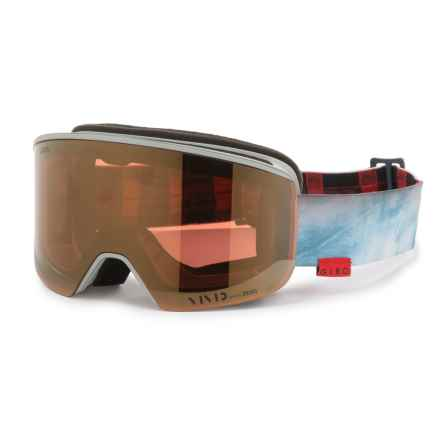 Giro Axis Ski Goggles - Extra Lens (For Men) in Stonewashed/Vivid Copper/Vivid Infrared - Closeouts