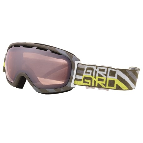 Giro Basis Flash Snowsport Goggle in Tank Offset/Rose Silver