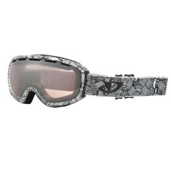 Giro Basis Flash Snowsport Goggle in Blue Color Block/Persimmon Blaze